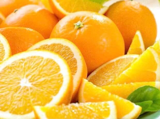 Вкусные и полезные для здоровья апельсины