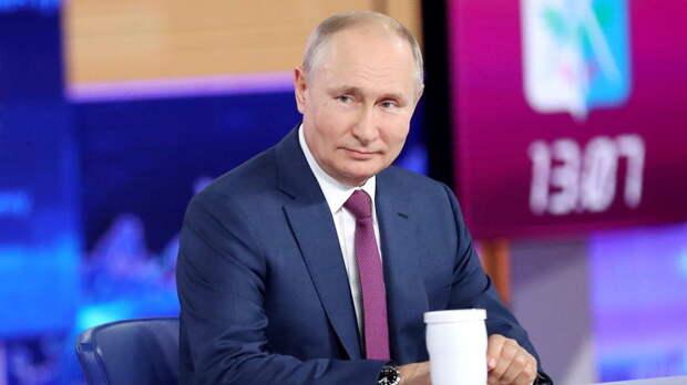 Путин: Зеленский отдал свою страну под полное внешнее управление