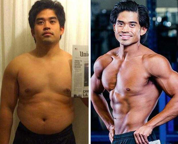 Пухленький соцработник превратился в бога фитнеса за 12 недель