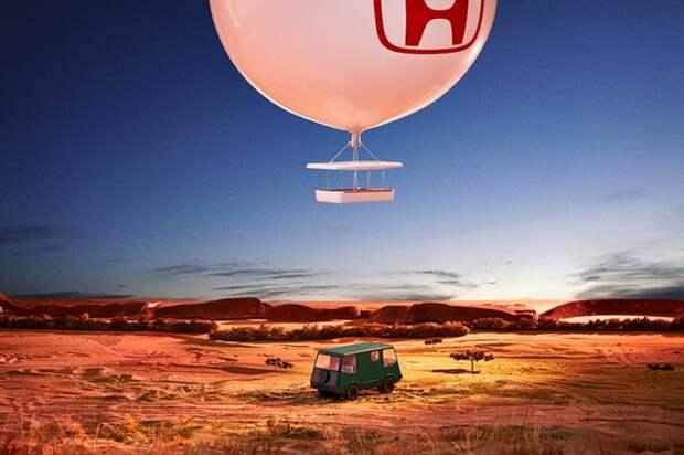 Honda: путешествие из Африки в Южную Америку