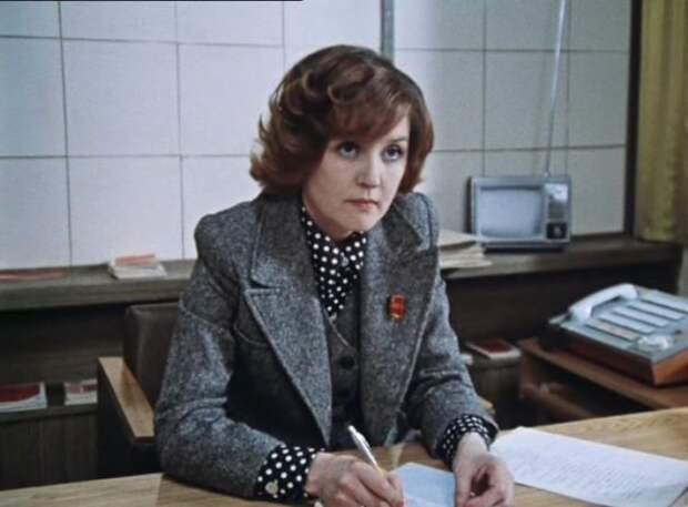 Вера Алентова в фильме *Москва слезам не верит*, 1979 | Фото: kino-teatr.ru