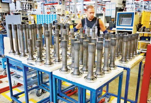 Завод MAN: детали производства