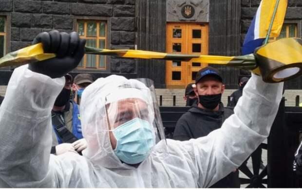 Украинский эксперт предсказал провал Киева в борьбе с коронавирусом