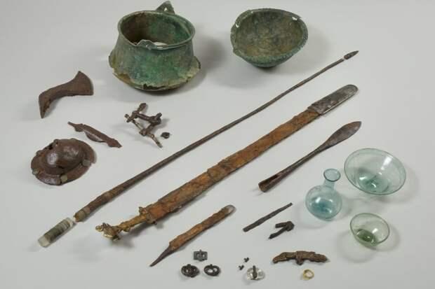Найдены роскошные 1500-летние гробницы эпохи Меровингов