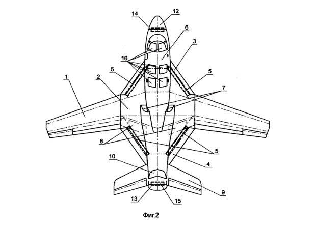 Российские конструкторы запатентовали малозаметный палубный «летающий радар»