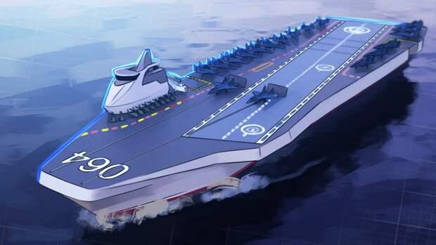 Строительство нового авианосца для ВМФ РФ обойдется в 500 млрд рублей
