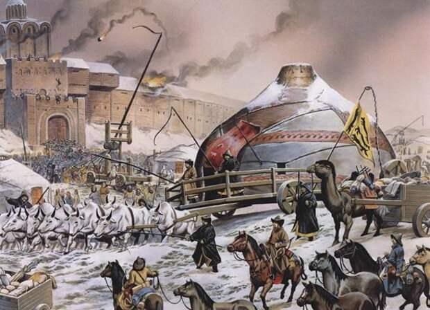 О взятии Киева Батыем