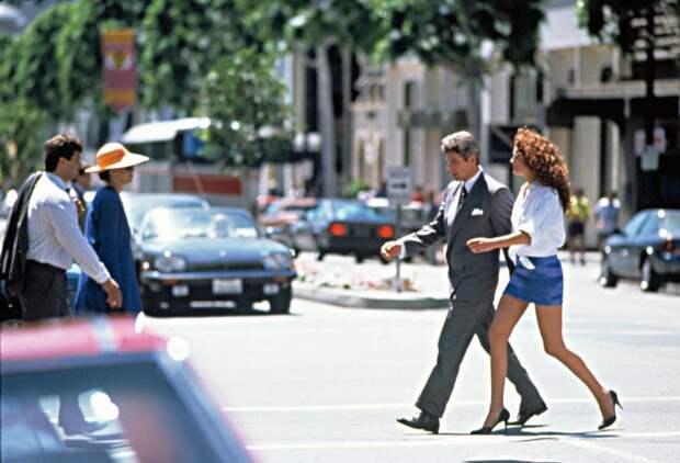 Фотографии со съёмочной площадки фильма «Красотка».