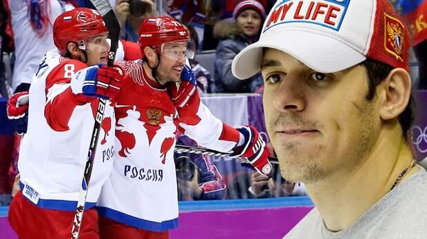 Овечкин— играющий генменеджер «Вашингтона». Онпомогает русским вНХЛ, вотличие отМалкина
