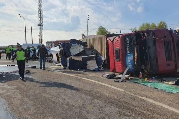 В ДТП в Смоленской области пострадали 16 белорусских граждан