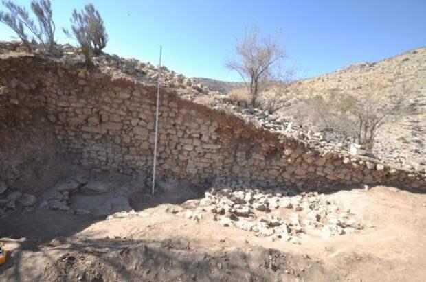 Крепость Узундара защищала Бактрию от кочевников