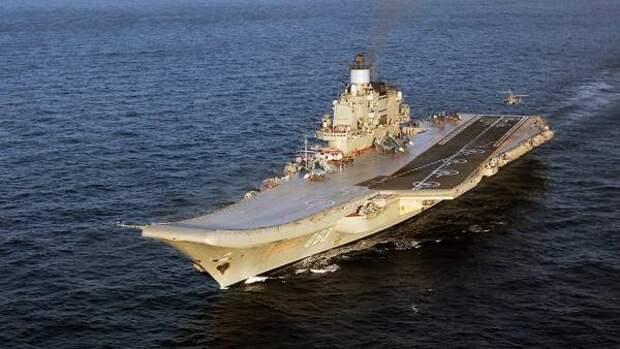 ВМФ РФ могут укрепить тремя авианосцами