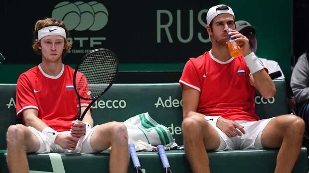 Рублев и Хачанов не смогли пробиться в четвертьфинал парного турнира в Монте-Карло