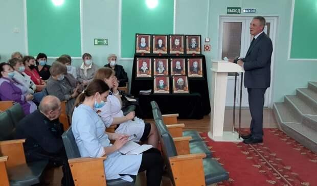 Сергей Кузьменко отчитался перед жителями Октябрьского муниципального округа