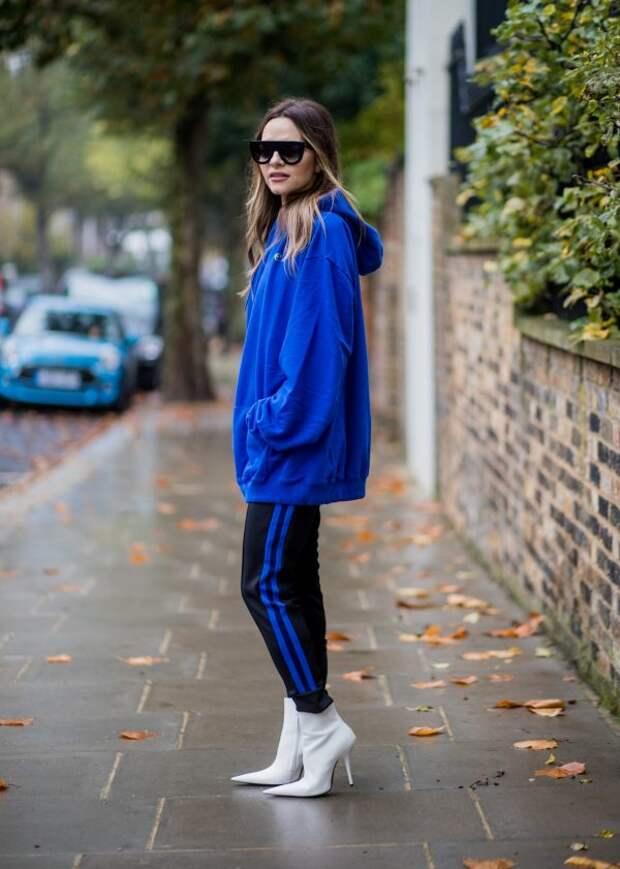 С чем носить худи осенью 2020:  стильные образы