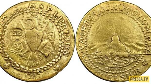 ТОП-6 самых дорогих монет в мире (7 фото)