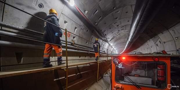 Станцию БКЛ «Марьина Роща» планируют достроить в 2022 году