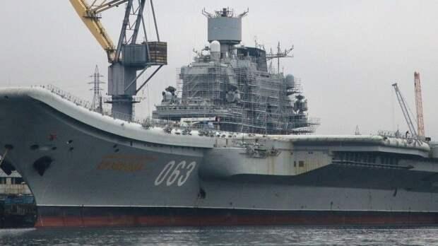 Надо три: сколько стоит построить авианосец для нужд флота России