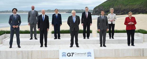 G7 теряет интерес к России и переключается на Китай