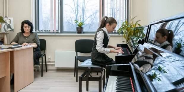 Собянин отметил текущие итоги реализации проекта «Искусство-детям» Фото: М. Мишин mos.ru