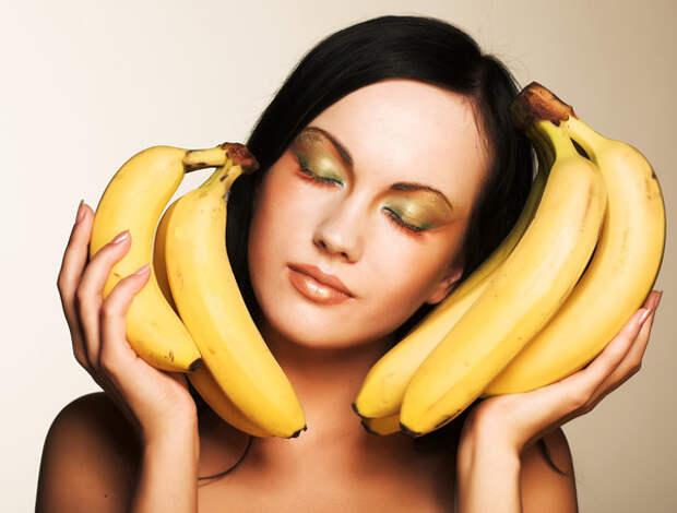 Бананы еще называют снотворным в кожуре
