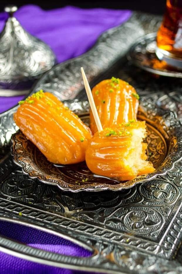 БЛЮДО ВЫХОДНОГО ДНЯ. Турецкий десерт Тулумба