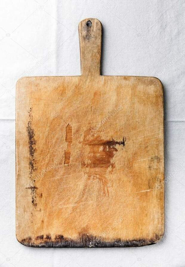 """фото из свободного источника интернета Разделочная доска """"времен гражданской войны"""" не лучшее украшение кухни."""