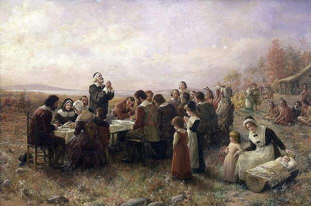 Праздник в честь 400-летия прибытия рабов. У американцев все в порядке с головой?
