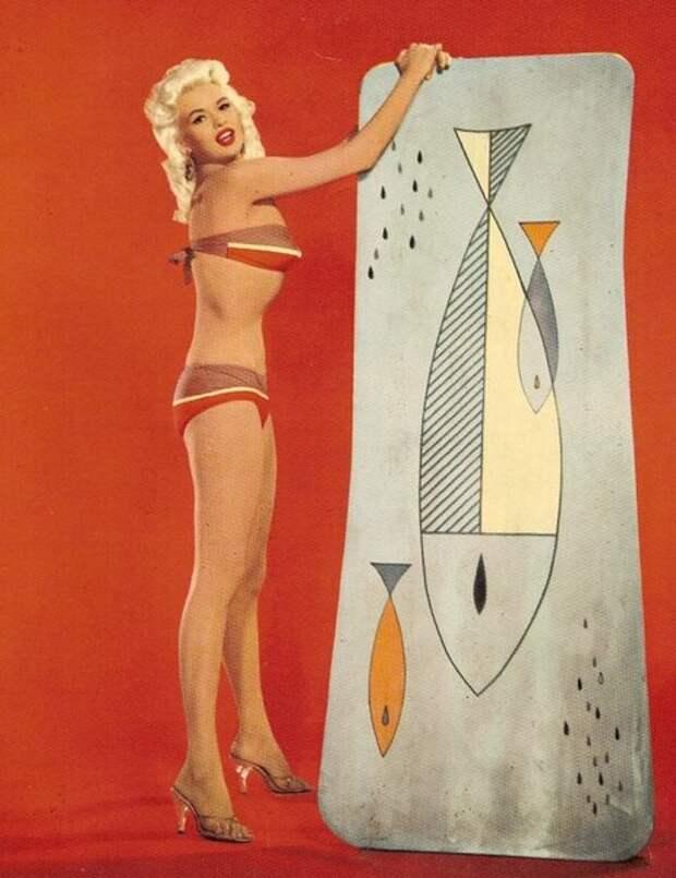 Обворожительный Pin-up от звезды 50-х Джейн Мэнсфилд