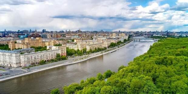 Собянин рассказал об украшении города живыми цветами / Фото: М.Денисов, mos.ru