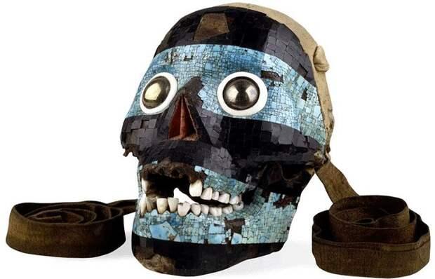 Ацтекская маска Тескатлипоки.