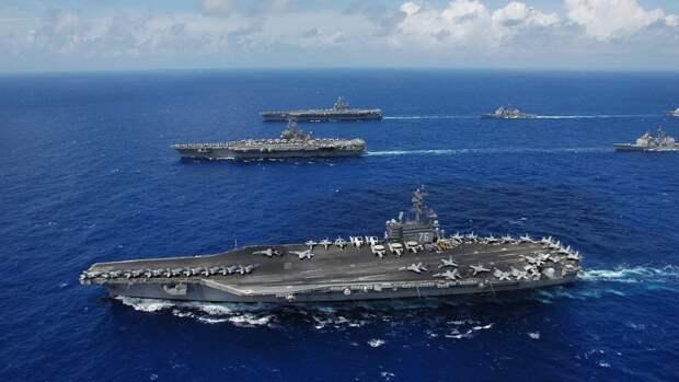 Авиация КНР ответила на появление американского авианосца у своих границ