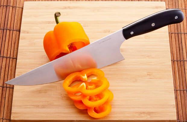 Секреты ухода за кухонными ножами