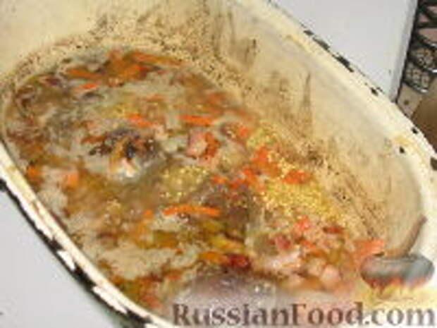 Фото приготовления рецепта: Кулеш с зайчатиной - шаг №5