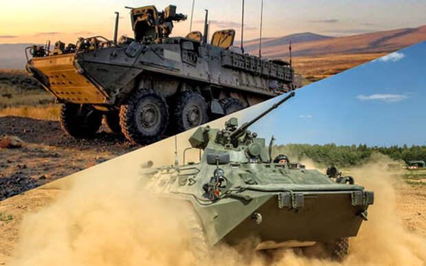 Наш БТР против американского Страйкера: чья броня возьмет