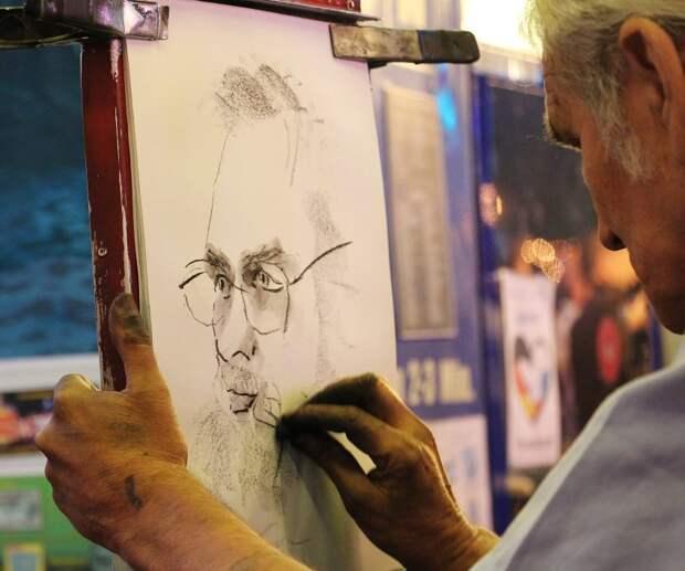 На Песчаной проведут бесплатный мастер-класс по рисованию лица по правилам золотого сечения