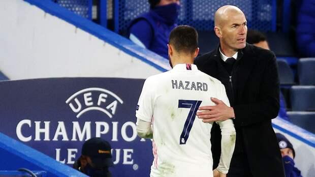 Азар смеялся на поле в компании игроков «Челси» после вылета «Реала» из Лиги чемпионов: фото