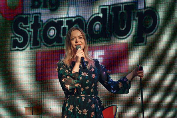 Фотоотчет с первой фирменной вечеринки Big Stand Up Live