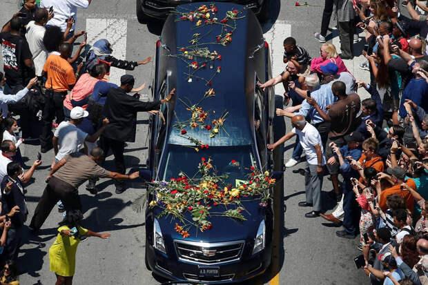 Похороны боксёра Мохаммеда Али