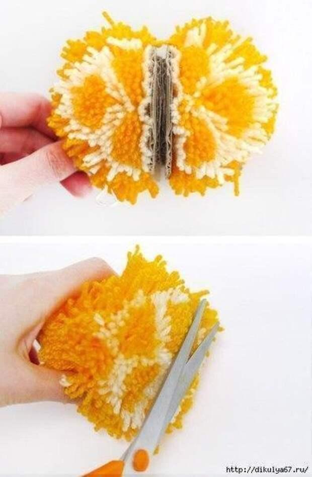 4 МК - помпоны в виде фруктов