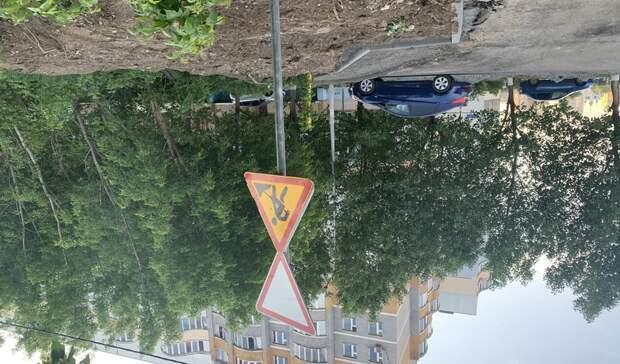 Вцентре Казани навыходные перекрыли дорогу