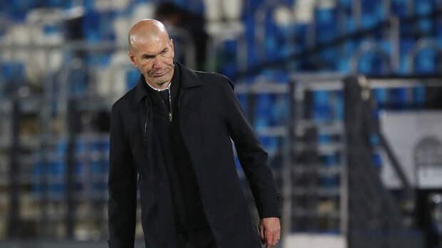 Зидан ответил на вопрос о своём будущем в «Реале»