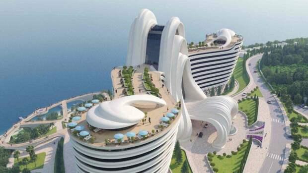 Недострой в Крыму выставили на аукцион за 210 миллионов под строительство казино