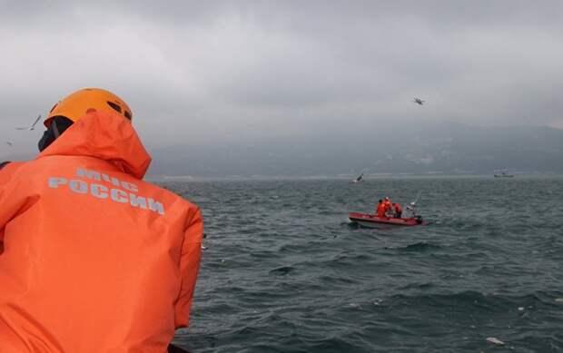 Американский бомбардировщик обнаружили в море в районе поисков Ту-154 под Сочи