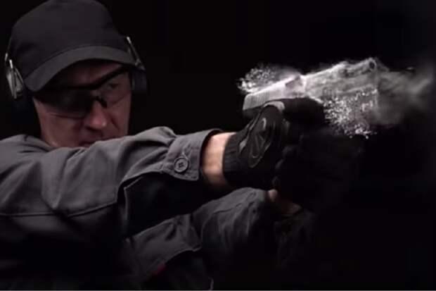 Вода, пыль, иней: испытания пистолета Лебедева сняли на видео