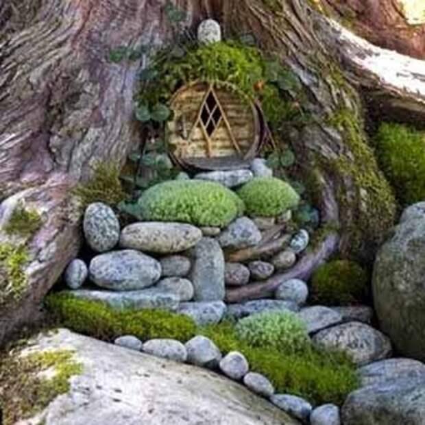 идеи ландшафтного дизайна с применением камня