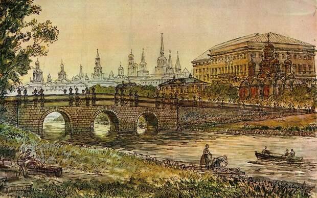 Неглинка. История реки под Москвой