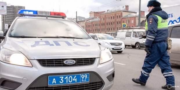 Автобус отправил в «нокаут» такси на Коптевском бульваре