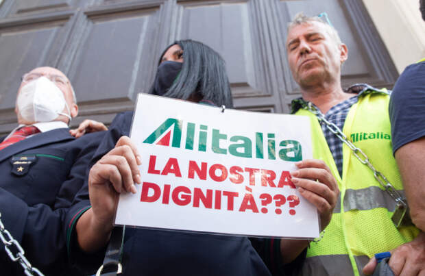 Как скоростные поезда помогли погубить итальянскую Alitalia