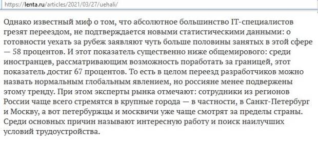 """Развенчиваем байку про то, что """"из России бегут молодые специалисты!"""". Три типа молодых эмигрантов с высшим образованием"""